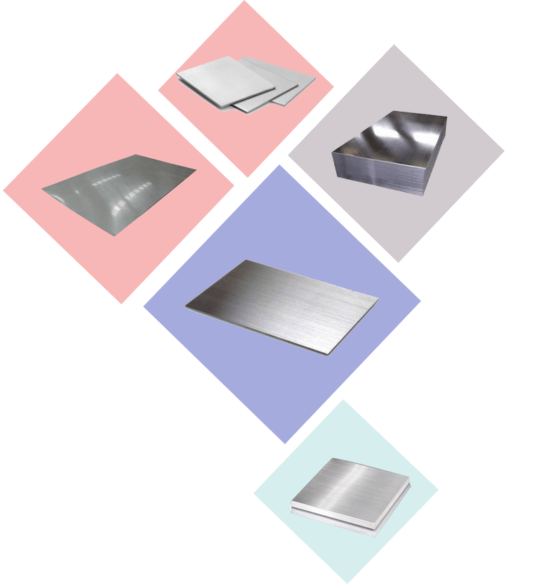 Sheets plates product