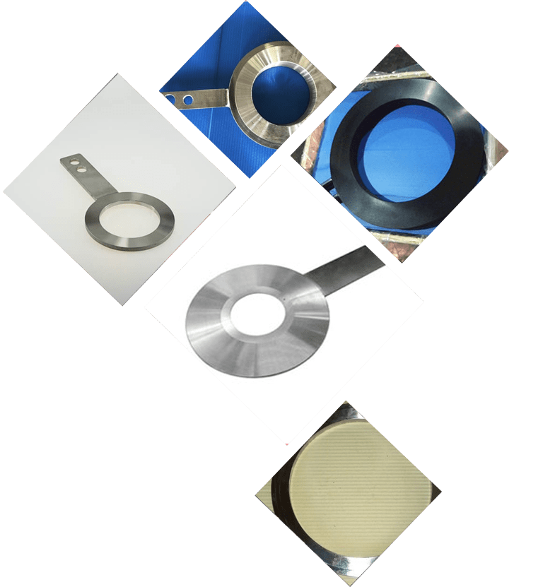 spacer ring flanges